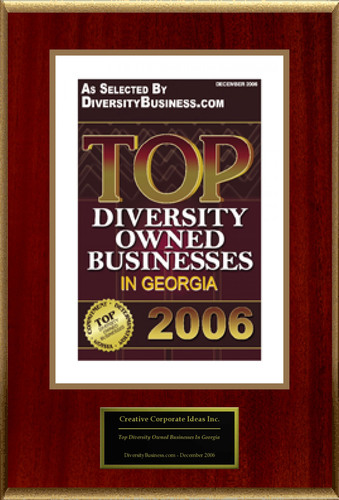 Creative Corporate Ideas Inc. Selected For 'Top Diversity Owned Businesses In Georgia'