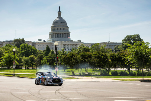 Precision Driver Rhys Millen Takes on DC for the Red Bull Global Rallycross Championship this weekend. ...