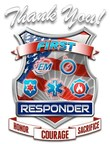 Thank You First Responder Official Logo