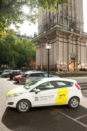 Hertz 24/7 partners with Imperial College London to provide technology enhanced vehicles for the ...