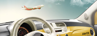 Hertz partners with airberlin offering travellers special car rental rates, exclusive deals and seamless access to Hertz's innovative products and services. To celebrate the partnership customers will receive airberlin's flight vouchers and discounts when booking a car with Hertz.