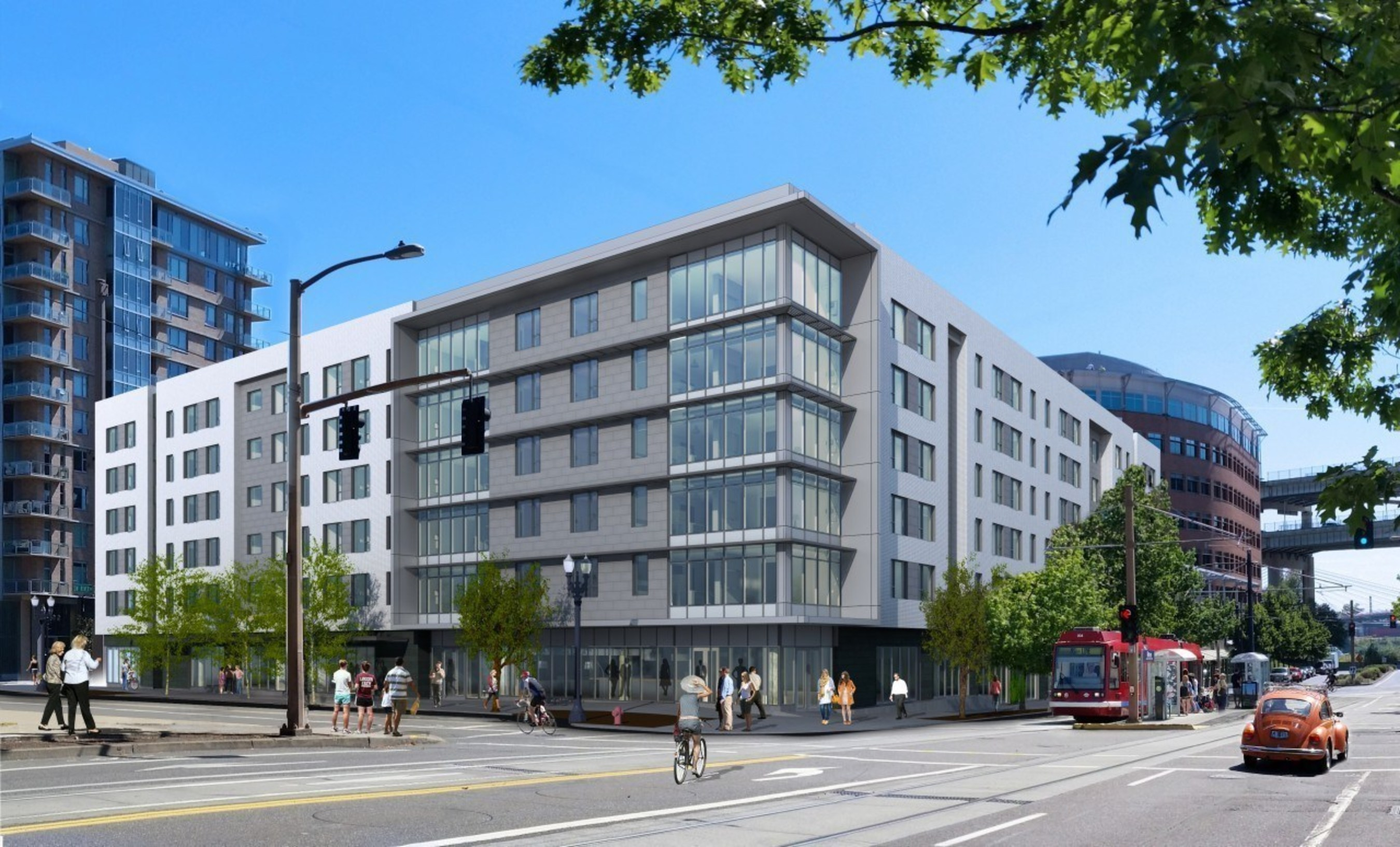 Hyatt House Portland/Downtown Expected To Open In July 2016