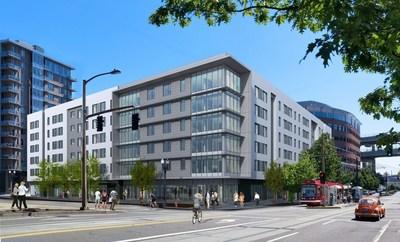 203-room Hyatt House hotel in Portland, Oregon, will open summer 2016
