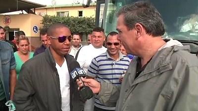 JUAN MANUEL CAO INTERVIEWS ARRIVING CUBANS