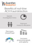 Guardian Analytics® Introduces Banking Industry's First Solution to Protect Against Fraud Risk Created by Same Day ACH