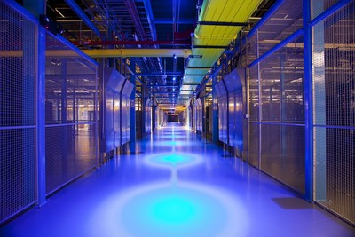 Equinix's SV5 data center in Silicon Valley
