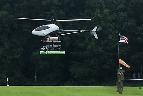 AutoCopter Take-off.  (PRNewsFoto/AutoCopter Corp)