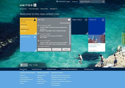 United Airlines today unveiled a preview of the new united.com - making it easier to search, book and buy the best flight for you.