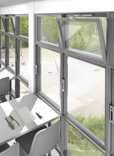 "D+H provides reliable and innovative electromotive solutions for smoke ventilation (SHEV) and controlled natural ventilation ""Made in Germany"" Image: D+H Mechatronic AG (PRNewsFoto/D_H Mechatronic AG)"
