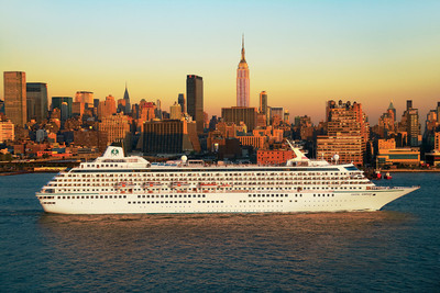 Crystal's June 2014 jazz-themed cruise kicks off with an overnight in New York City before sailing New England and Canada en route to Reykjavik.  (PRNewsFoto/Crystal Cruises)
