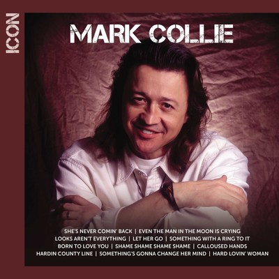 "Acclaimed singer/actor/songwriter Mark Collie's top Billboard Country chart hits have been gathered for a new ICON collection, to be released April 15 by MCA Nashville/UMe. The new collection spans Collie's MCA Nashville tenure, from his first hit, 1990's ""Something With A Ring To It,"" to his No. 3 ""Born To Love You,"" No. 5 ""Even the Man in the Moon is Crying,"" and No. 13 ""Hard Lovin' Woman."" Collie's four MCA Nashville albums, 'Hardin County Line' (1990)..."