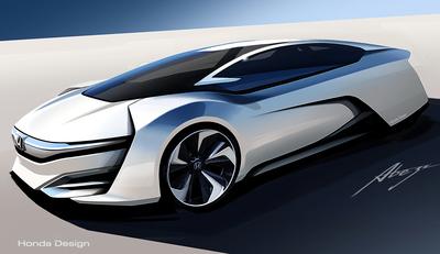 Honda FCEV Concept Makes World Debut at Los Angeles International Auto Show.  (PRNewsFoto/American Honda Motor Co., Inc.)
