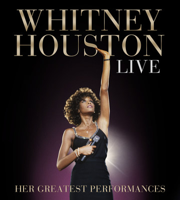 "CD/DVD ""Whitney Houston Live: Her Greatest Performances"" to be released Nov 10th (PRNewsFoto/Legacy Recordings)"