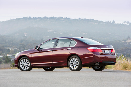 The 2013 Honda Accord has captured the Kelley Blue Book 2013 Best Retained Value Award, along with the Honda CR-V, Honda Fit and Honda Civic.  (PRNewsFoto/American Honda Motor Co., Inc.)
