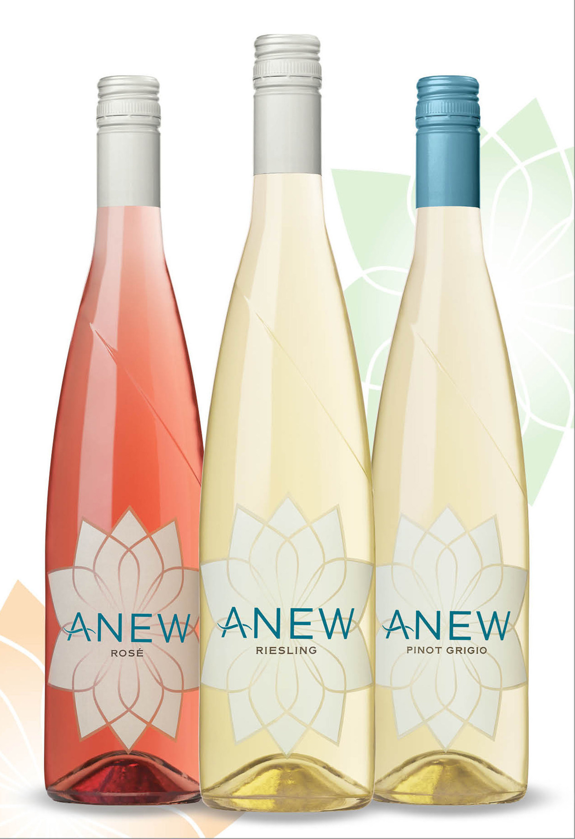 Washington's ANEW wines add a refreshing Pinot Grigio and a flavorful Rose to its varietal line.