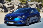 The just launched Renault Megane GT, part of the brand's design renaissance. Credit: Renault. (PRNewsFoto/Groupe Renault)