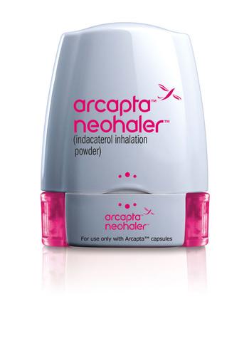Novartis launches Arcapta™ Neohaler™, a novel once-daily bronchodilator for chronic obstructive