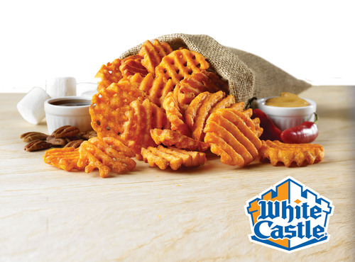 This Election Day White Castle Offers Two Ways To Try The New Sweet Potato Waffle Fries For Free.  (PRNewsFoto/White Castle)