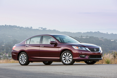 2014 Honda Accord and Odyssey Named Best Values by Kiplinger's Personal Finance.  (PRNewsFoto/American Honda Motor Co., Inc.)