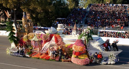 Princess Cruises Kicks Off 50th Anniversary Year with First-Ever Float in The Rose Parade