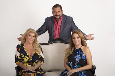 Jarling, Alexis y Daniela, expertos en organizar fiestas de quince y protagonistas de la serie Quinceanera de Discovery Familia.