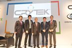 Crytek Continues to Expand with the Arrival of Crytek Istanbul; from left to right: Serhat Bekdemir - General Manager, Cevat Yerli - Founder, CEO & President of Crytek, Nihat Ergün - Minister of Science, Industry & Technology of Turkey, Avni Yerli - Managing Director Crytek and Faruk Yerli - Managing Director Crytek