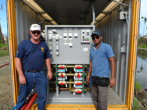 Parker installs watermaker in the Philippines to assist recovery efforts following Typhoon Haiyan.  ...
