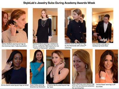 StyleLab's Jewelry Suite During Academy Awards Week