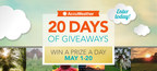 AccuWeather 20 Days of Giveaways Sweepstakes on Facebook