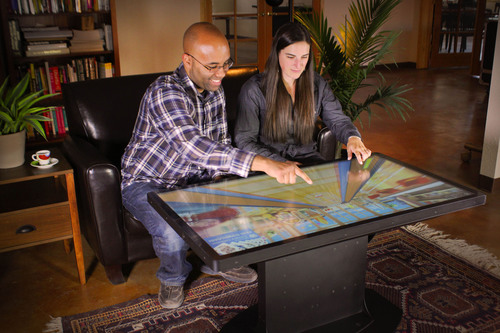 Ideum's New Platform 46 Multitouch Tables Feature 46' 3M Displays