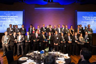 Frost & Sullivan Best Practices Awards Banquet (PRNewsFoto/Frost & Sullivan)