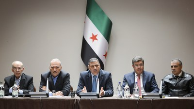 Syria's High Negotiations Committee unveils its vision in London (PRNewsFoto/High Negotiations Committee)