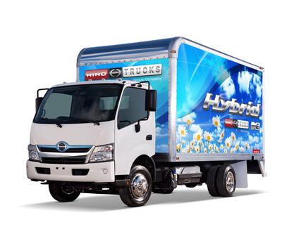 Hino Trucks Class 5 COE 195h. (PRNewsFoto/Hino Trucks) (PRNewsFoto/HINO TRUCKS)