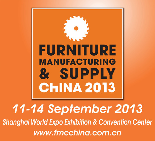 FMC China 2013, September 11-14, 2013, Woodworking Machinery & Furniture Raw Materials, Shanghai, China.  (PRNewsFoto/Sinoexpo)