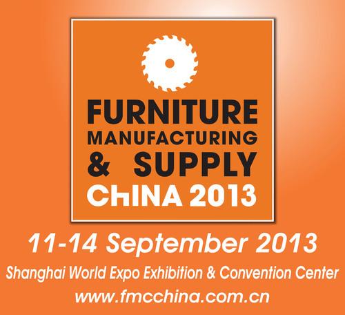 FMC China 2013, September 11-14, 2013, Woodworking Machinery & Furniture Raw Materials, Shanghai, China.  ...