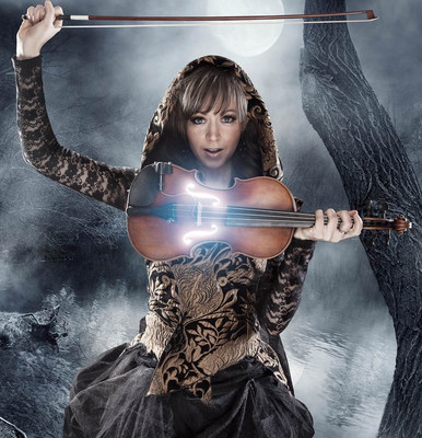 "Lindsey Stirling stars in ""Song by Song: Lindsey Stirling"" on Ovation, December 9 at 10 pm ET. Photo credit: Courtesy of Ovation."