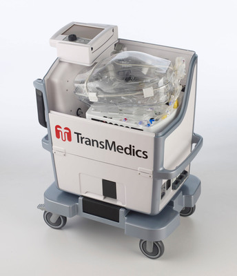 TransMedics Organ Care System (OCS) Lung portable perfusion and ventilation system. For more information, visit www.transmedics.com.  (PRNewsFoto/TransMedics, Inc.)