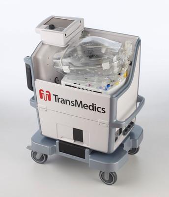 TransMedics Organ Care System (OCS) Lung portable perfusion and ventilation system. For more information, visit www.transmedics.com.  (PRNewsFoto/TransMedics, Inc.)