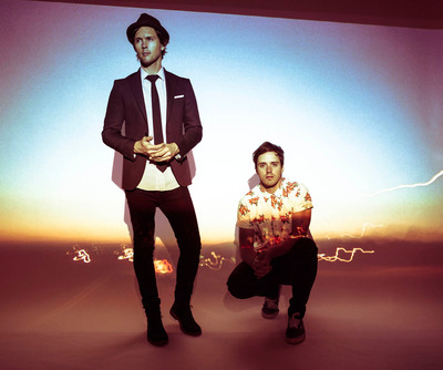 """LG and Atlas Genius Celebrate Technology in Everyday Life in New Video for smash hit single """"If So."""" (PRNewsFoto/LG Electronics USA, Inc.)"""