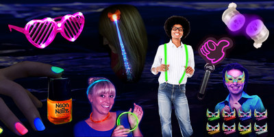 8 Fun Glow-in-the-Dark Party Accessories for Summer Music Festival Season from Glowsource.com. Light Up Heart Shades, LED Suspenders, and Glow Butterfly Masks are just a few of the stunning glow and light up party supplies recommended by Glowsource.com for any nighttime event.