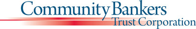 Community Bankers Trust Corporation Logo.  (PRNewsFoto/Community Bankers Trust Corporation)