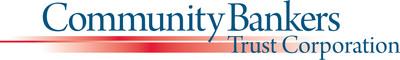 Community Bankers Trust Corporation Logo.  (PRNewsFoto/Community Bankers Trust Corporation)