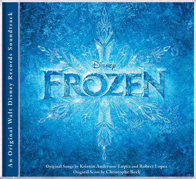 FROZEN Soundtrack cover art. (PRNewsFoto/Walt Disney Records)