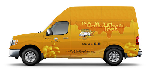 Nissan Serves Up a 'Taste of Innovation' with Food Truck Concepts Built with Nissan NV Commercial