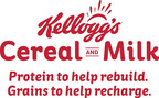 Kellogg's(R) Shares the Importance of Protein and Whole Grains to Help Start the Day Right (PRNewsFoto/Kellogg Company)