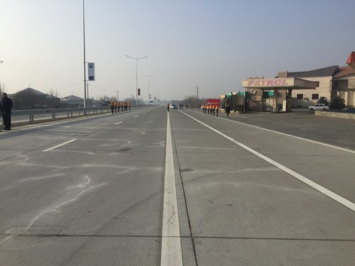Opening Ceremony of Two New Road Sections in Armenia, Built by Isolux Corsan (PRNewsFoto/Isolux Corsan) ...
