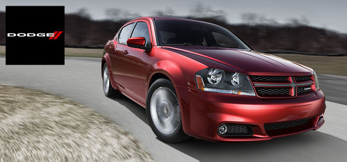 The 2014 Dodge Avenger is available with an award-winning 3.6-liter V-6 Pentastar engine.  (PRNewsFoto/Briggs Auto Group)