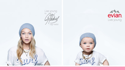 evian & BETC Paris Present Baby Bay Campaign Reinforcing The Brand's Live Young Ethos