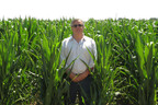 Standing in a Two Rivers Corn Field, CEO John McKowen, July 2, 2012.  (PRNewsFoto/Two Rivers Water Company)