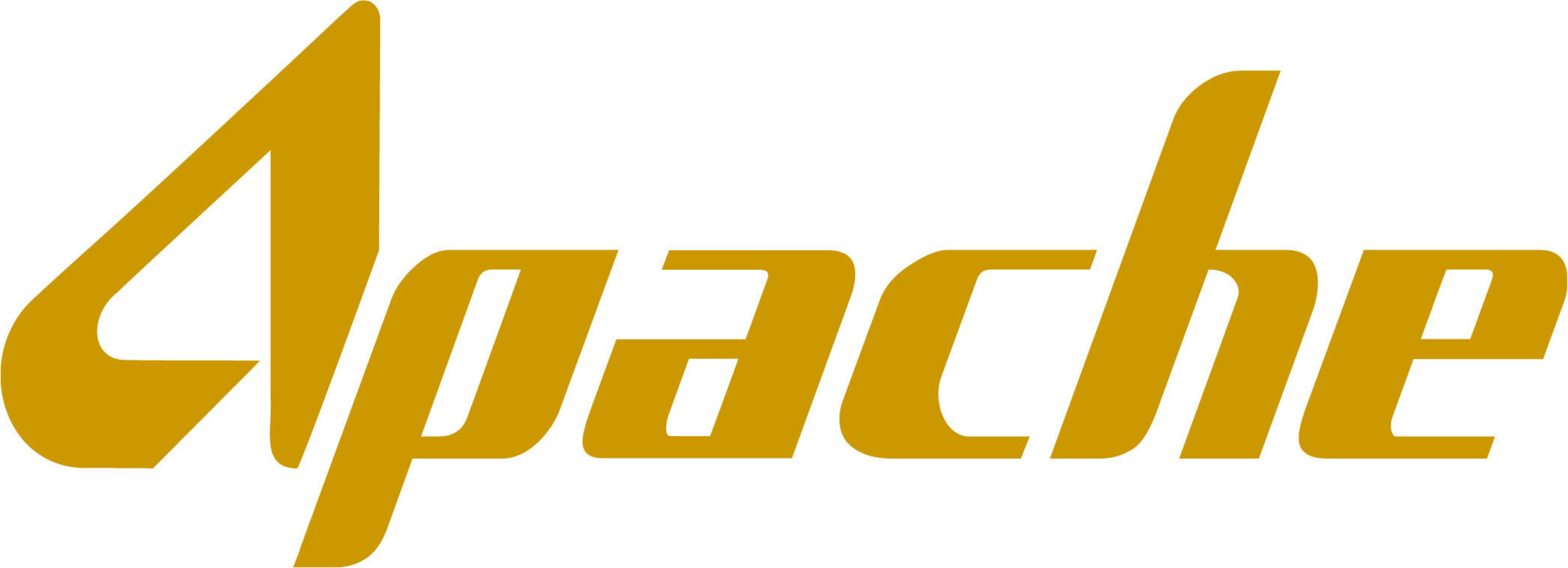 Logo for the Apache Corporation. More information about Apache can be found at www.apachecorp.com.